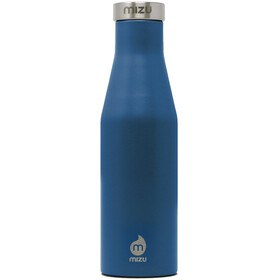 MIZU S4 Insulated Bottle 400ml with Stainless Steel Cap, bleu